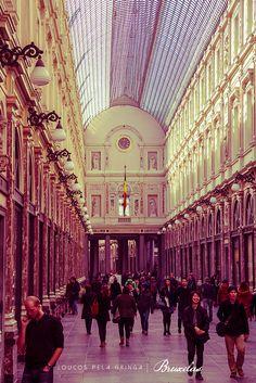 Galeries Royales St. Hubert, Bruxelas, Bélgica