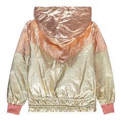 Nylon Sporty Hooded Jacket-product