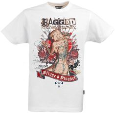 Front Panel print commissioned for Ragged Clothing Co. Clothing Co, Tattoo, Mens Tops, T Shirt, Clothes, Fashion, Tall Clothing, Moda, Tee Shirt