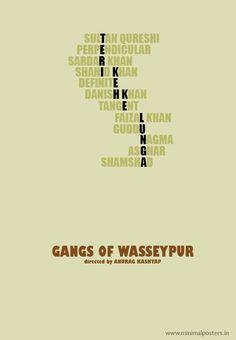 Gangs of Wasseypur (2012).   Starring Manoj Bajpai, Nawazuddin Siddiqui, Huma Qureshi, Richa Chadda, Tigmanshu Dhulia, Pankaj Tripathi, Rajkummar Rao and Zeishan Quadri.