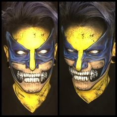 Pin for Later: Get Ready For Your Jaw to Drop When You See These Comic Book Makeovers Don't believe these aren't drawings? Check out this Wolverine video. (Turn down your sound!)