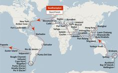 The world's longest cruises
