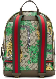 gucci book bags for men. gucci - multicolor gg supreme bengal backpack book bags for men