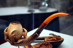 Jefferson Davis Pipe Smoking | The #1 Source for Pipes and Pipe Tobacco Information:
