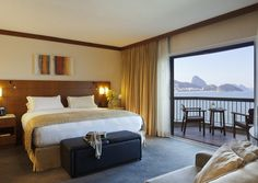 #TheSofitelRiodeJaneiroCopacabana is one of the most prestigious and luxurious 5 Star Hotel in Brazil. It is located on the #CopacabanaBeach. This Hotel has 388 rooms with balcony, Executive floor, 2 pools and many other facilities.