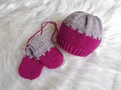 Baby hatt Tidbit - Gratis stickinstruktioner - Caros Fummeley - Lilly is Love Baby Knitting Patterns, Knitting Designs, Baby Patterns, Free Knitting, Easy Knit Hat, Knitted Hats Kids, Baby Hat And Mittens, Baby Hats, Baby Poncho
