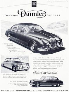 Vintage Cars, Antique Cars, Jaguar Daimler, Car Logos, E Type, Bugatti, Motor Car, Magazine Covers, Cars And Motorcycles