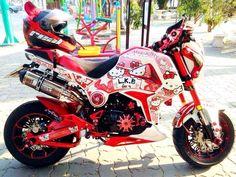 Custom Motorcycles, Cars And Motorcycles, Honda Grom Custom, Super Bikes, Motorbikes, Badass, Mario, Pocket, Ideas