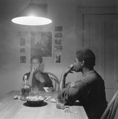 Untitled from the Kitchen Table Series (1990) Carrie Mae Weems