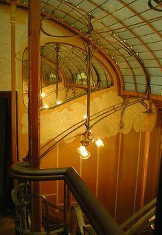 art nouveau - Museum Horta : mirrors