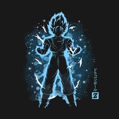 Check out this awesome 'The+Saiyan+God' design on @TeePublic!