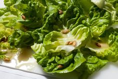 Butter Lettuce and Pumpkin Seed Salad Recipe - Chowhound