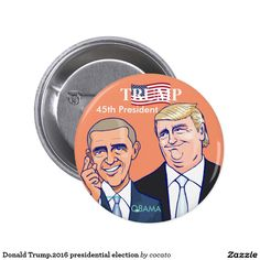 Donald Trump.2016 presidential election Button