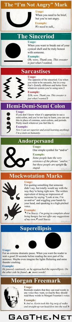8 new and necessary punctuation marks
