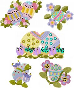 Floppy Easter Eggs