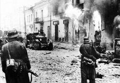 German soldiers on the streets of a german town 1945 | Flickr - Photo Sharing!