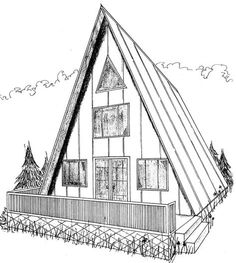 A Frame House Plans Free | ... traditional a frame home this tall a frame design should really catch