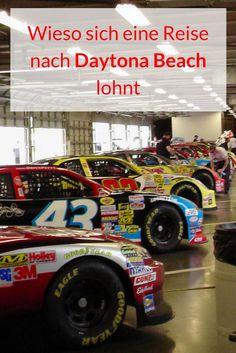 Daytona Beach liegt im US-Bundesstaat Florida. Amerikanische Studenten fahren nach Daytona Beach, um Spring Break zu feiern. Und Motorradfahrer kommen jedes Jahr zur Bike Week in die Stadt. Wenn ich an Daytona Beach denke, dann denke ich als erstes an den 37 kilometerlangen Strand. Ich zeige dir, wieso du bei deinem nächsten Besuch im Sunshine State, auch Daytona Beach besuchen solltest. #daytonabeach #daytona #internationalspeedway