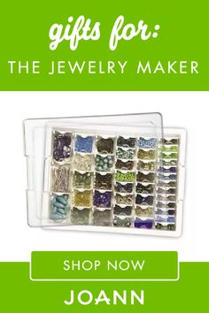 Gifts for Jewelry Makers - Jewelry Making Gifts Jewelry Tools, Jewelry Making Supplies, Jewelry Crafts, Holiday Gift Guide, Holiday Gifts, Maker Shop, Online Gifts, Tool Kit, Gifts For Him