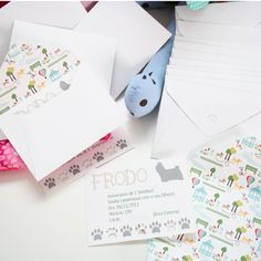Festa infantil personalizada, tema: Cachorrinhos    * Para personalizar a sua festa entre em contato com a Papermint.    papermint@papermint.com.br