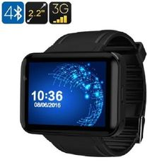 DM98 Watch Phone Touch Android Bluetooth WiFi 3G Support Built-In Google Play