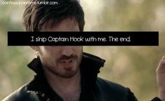 Once Upon a Time, This made me laugh WAY harder than it should have! and I totally want Hook. He's so hot.