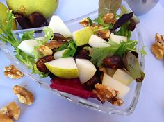 Wistful Walnut Pear Salad