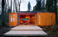 art studio? guest house? Drop one in the back yard! (we would need a different back yard though...)