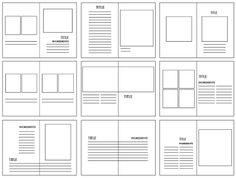 DESIGN PRACTICE. : KINFOLK; GRIDS AND LAYOUT DEVELOPMENT