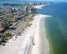 Clearwater Beach, FL - Click image to find more Travel & Places Pinterest pins