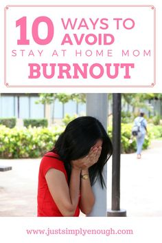 Do you feel yourself starting to feel burnout? Here are 10 Ways to Avoid Stay At Home Mom Burnout! Stay At Home Mom, Work From Home Moms, Parenting Advice, Kids And Parenting, Mom Schedule, Happy Mom, Mom Hacks, Me Time, Mom Blogs