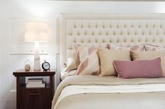 bedroom a neutral palette ivory {swap the mauve with blush}