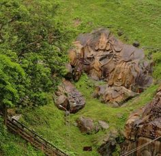 Unakoti's bas-reliefs are even more mysterious, given the fact that there is neither certainty as to the time they were carved (The official website of the Unakoti District dates the reliefs to between the 11th and 12th centuries A.D.) nor the reason for their carving in such a secluded place.