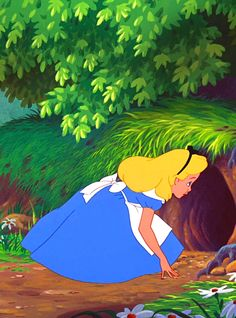 Alice in Wonderland Walt Disney, Disney Films, Disney And Dreamworks, Disney Magic, Disney Pixar, Disney Characters, Alice Disney, Disney Princess, Alice In Wonderland 1951