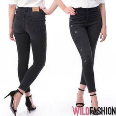 Chic, practici si tineresti acesti jeansi se integreaza perfect in tinutele tale de primavara! 😍👖🖤 Black Jeans, Skinny Jeans, Denim, Casual, Pants, Fashion, Skinny Fit Jeans, Moda, Trousers