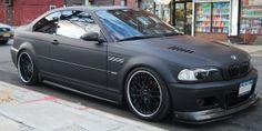 BMW matte black