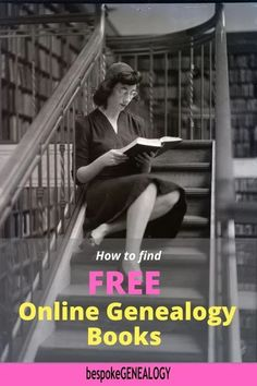 How to Find FREE Online Genealogy Books. Here are the best resources to find free books for your genealogy research. Free Genealogy Sites, Genealogy Research, Family Genealogy, Genealogy Organization, Family Organizer, Ancestry, Family History, Free Books, Books Online