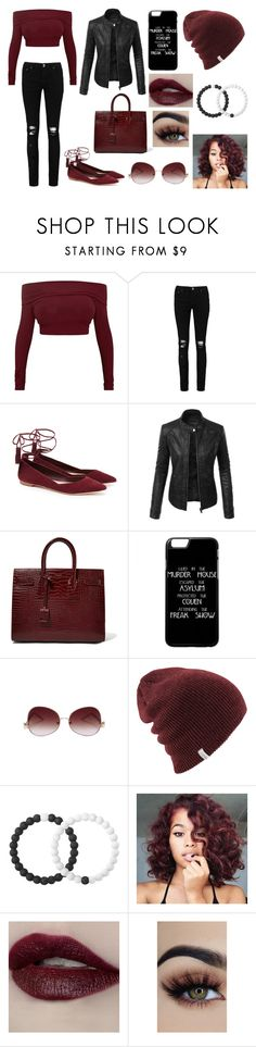 """Going to Convention"" by giuly666 on Polyvore featuring moda, Boohoo, Loeffler Randall, LE3NO, Yves Saint Laurent e Lokai"