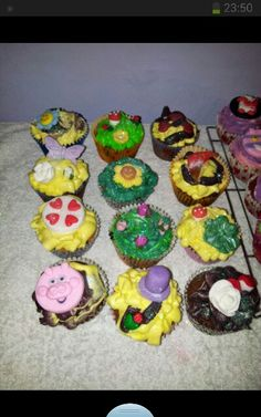 Mad hatter cakes