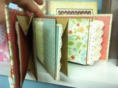 Site has lots of ideas with video's Mini Scrapbook Albums, Mini Albums, Scrapbook Pages, Paper Bag Album, Paper Bags, 3d Paper Crafts, Paper Crafting, Mini Scrapbooks, Album Book
