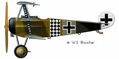 Fokker Dr.I JG.1 Jasta 11  1917
