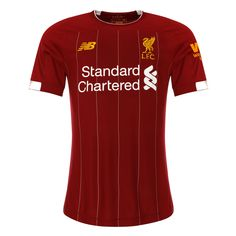 Liverpool Home Soccer Shirt Liverpool Fc Home, Liverpool Fans, Liverpool Goalkeeper, Goalkeeper Shirts, New Balance 247, Baby Football Kits, Liverpool Champions League, Jersey Fashion, Soccer