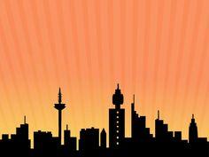 Superhero Backdrop SoCal Skyline Cake Topper City Skyline Silhouette Cake Topper Starry Starry Night theme