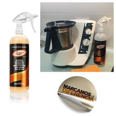 Limpieza y mantenimiento de tu Thermomix con Orange Cleaning Power (OCP) BIO RECUPERADOR MULTIUSOS CONCENTRADO