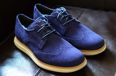I am so getting these. Cole Haan Lunargrand Wingtips.