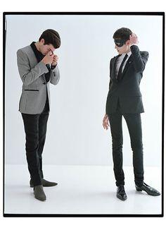 """The Originals"" | Models: The Brant Boys, Peter II (far Left) & Harry (near left), Photographer: Tim Walker, W Magazine, November 2012"