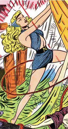 Namora - Timely   Marvel Comics - Golden Age