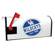 Kentucky Wildcats Magnetic Mailbox Cover, Multicolor