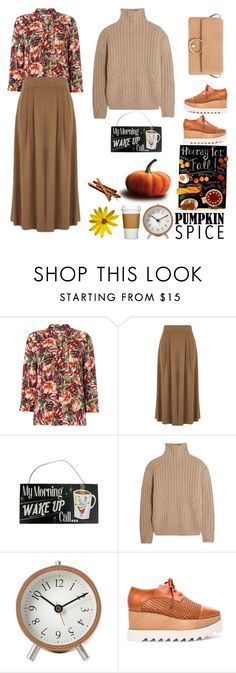 """""""Pumpkin Spice"""" by lizart ❤ liked on Polyvore featuring Warehouse, WALL, Totême, STELLA McCARTNEY, MANGO and pss"""