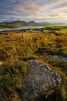 Rock art at Maghernaul, Isle of Doagh, Co. Donegal, Ireland | Photo by Ken Williams